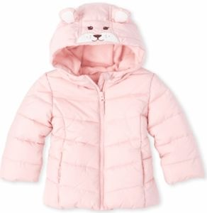 Other - CP Baby and Toddler Girl's Bear Puffer Jacket